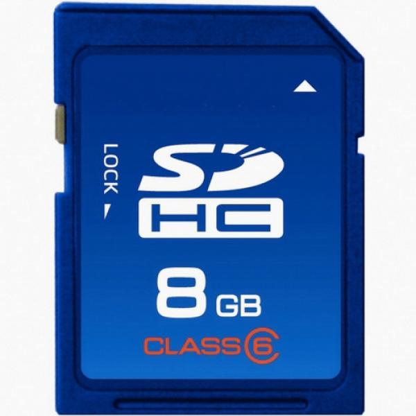 Карта памяти SDHC 8Gb